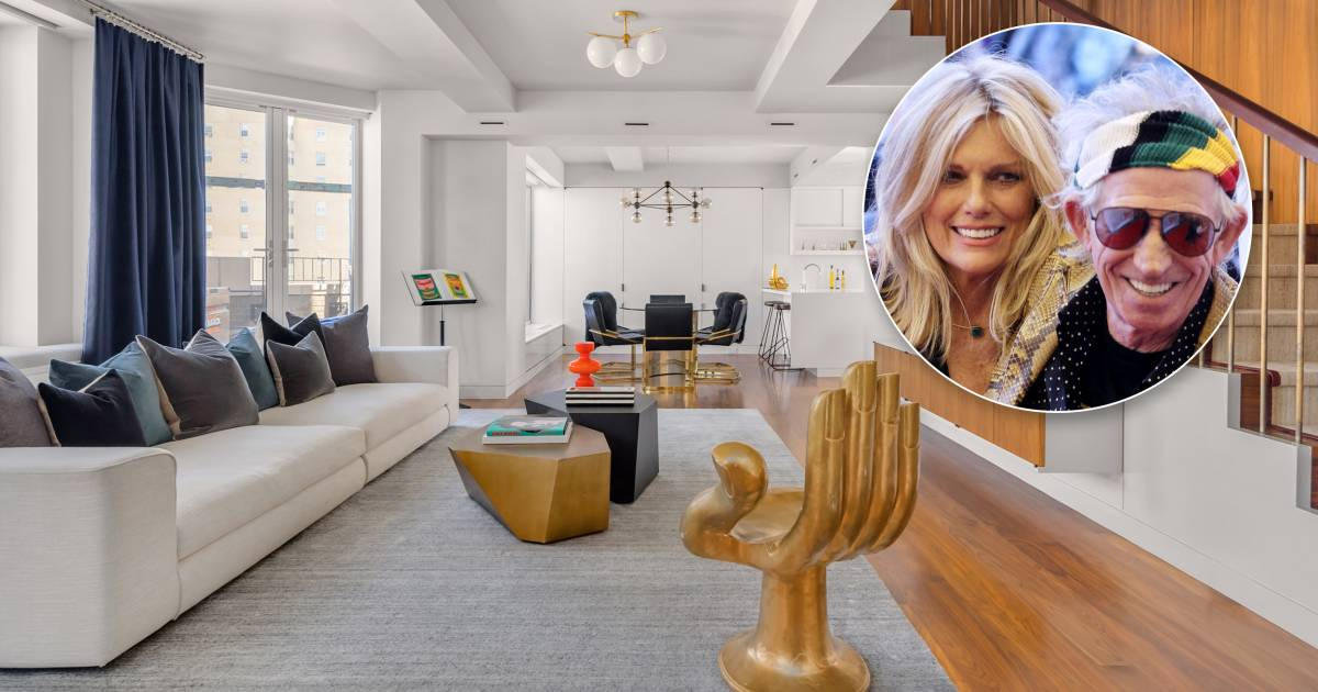 keith richards and patti hansen u2019s nyc apartment