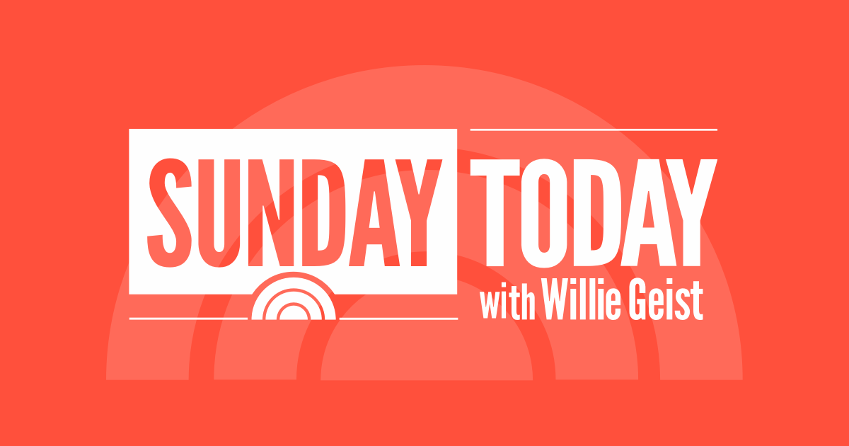 Sunday TODAY With Willie Geist TODAY Com TODAY