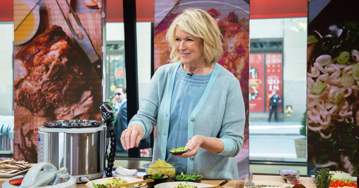 Martha Stewart S Pressure Cooker Recipes Ramen Sloppy Joes Chicken Amp Rice