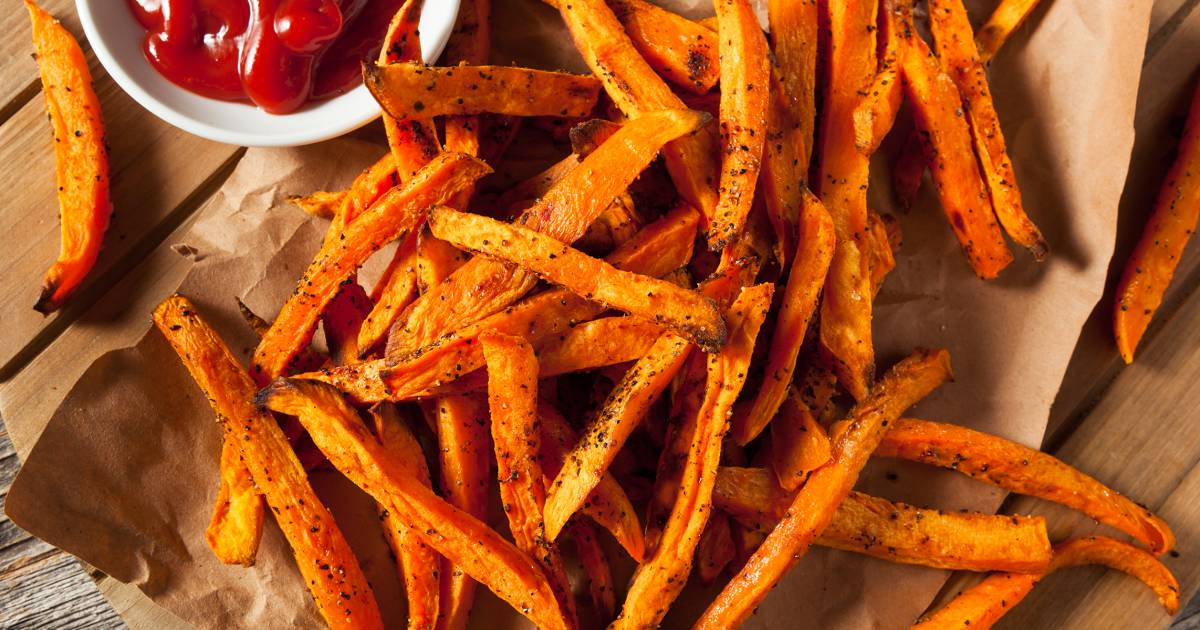 How to bake a sweet potato into delicious crispy fries, chips and more