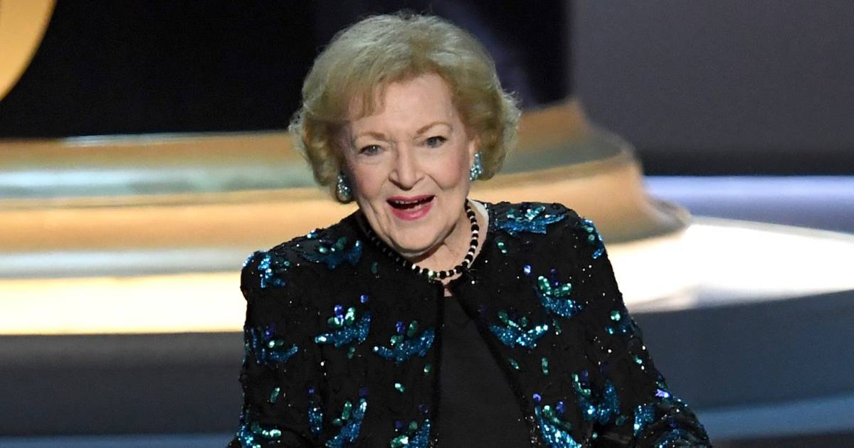 Betty White, 96, steals the show, earns standing ovation at Emmys