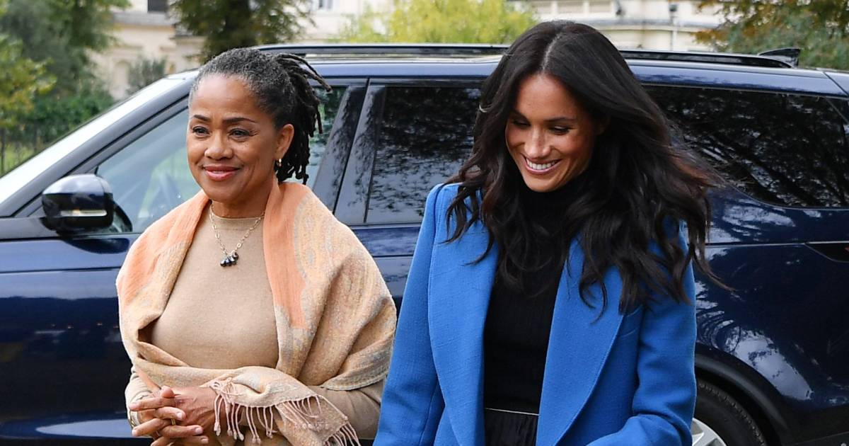 Duchess Meghan has her mom by her side at launch of new cookbook project