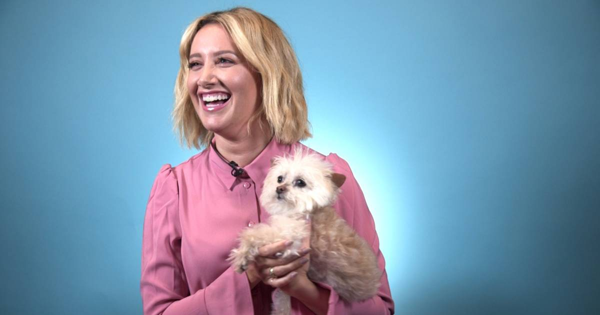 How Ashley Tisdale's dog got her through her 20s — and dating