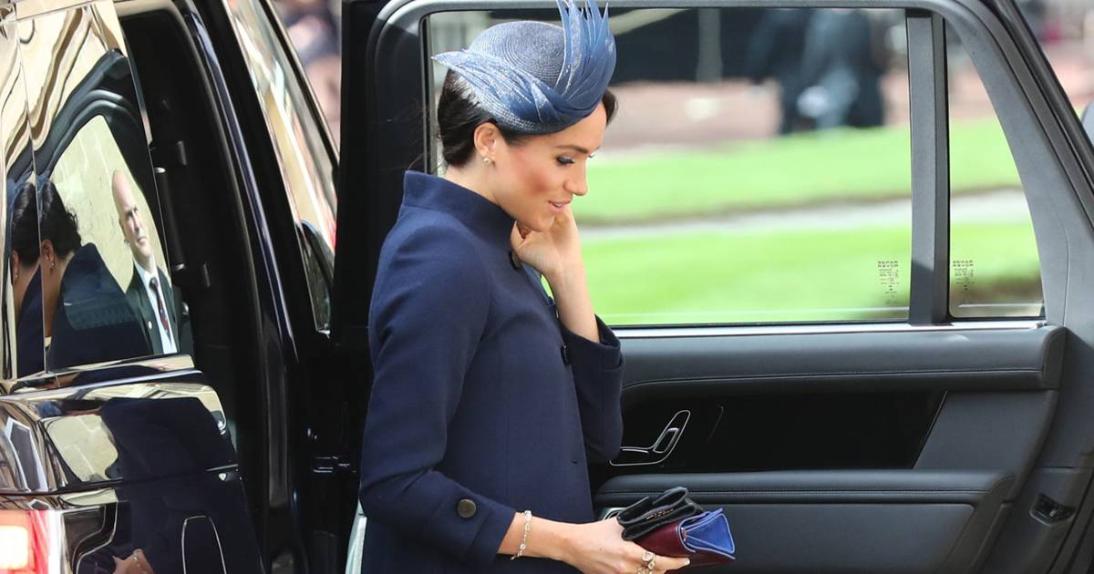 Did the former Meghan Markle give clues about pregnancy?