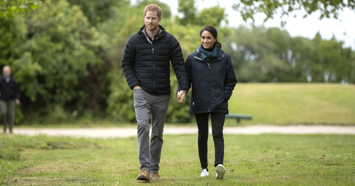 Prince Harry shouts out to 'our little bump' in sweet speech