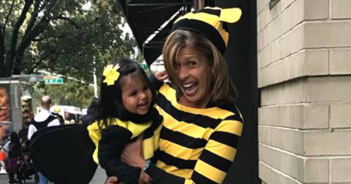 TODAY anchors share how they celebrated Halloween with their kids
