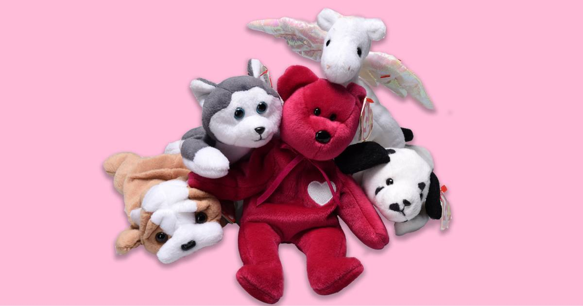 is your beanie baby collection actually worth a lot of money now. Black Bedroom Furniture Sets. Home Design Ideas
