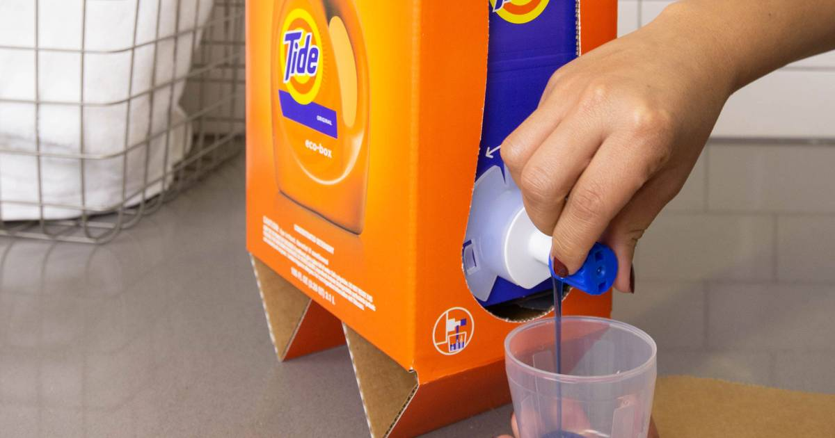 The new Tide box looks like boxed wine, and the internet is freaking out