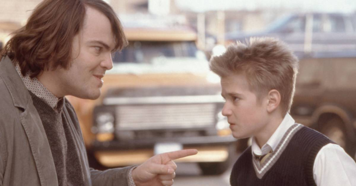 Jack Black reunites with 'School of Rock' drummer — who looks totally different