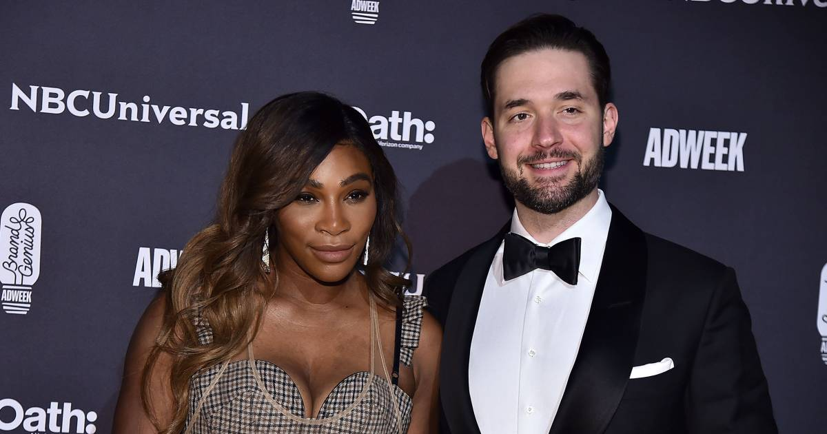 Serena Williams' husband honors his 'queen' on 1st anniversary — see the sweet post