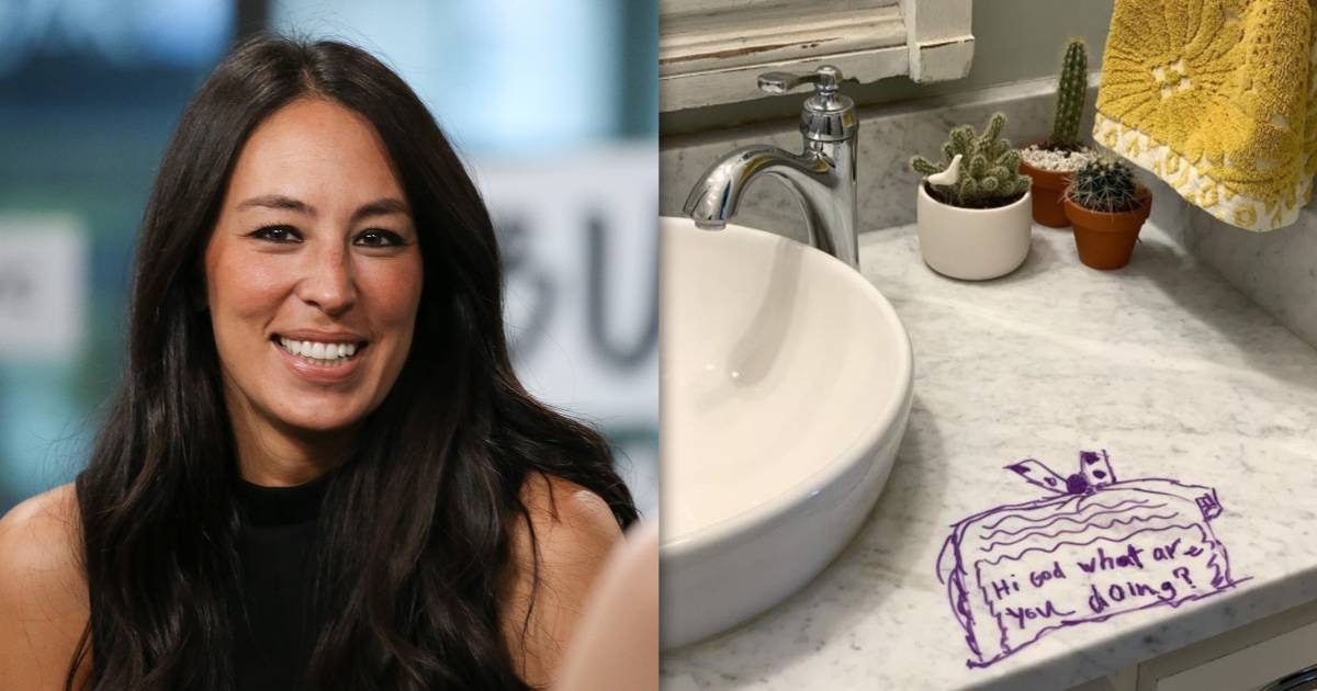 Why Joanna Gaines was actually happy after her daughter drew on bathroom sink