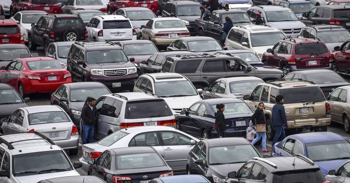 Black Friday parking psychology: How to find a spot every time