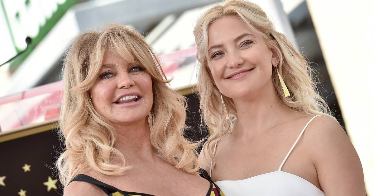 Kate Hudson wishes mom Goldie Hawn happy birthday with multigenerational photo