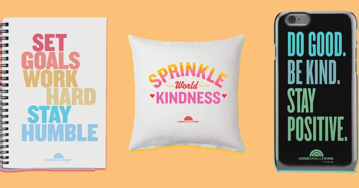 Inspire loved ones with a gift from the new One Small Thing collection