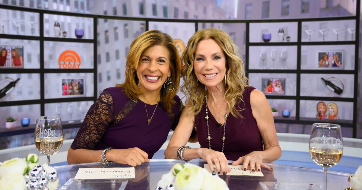 kathie lee and hoda are sending a lucky hoda kotb and kathie lee gifford share their favorite things