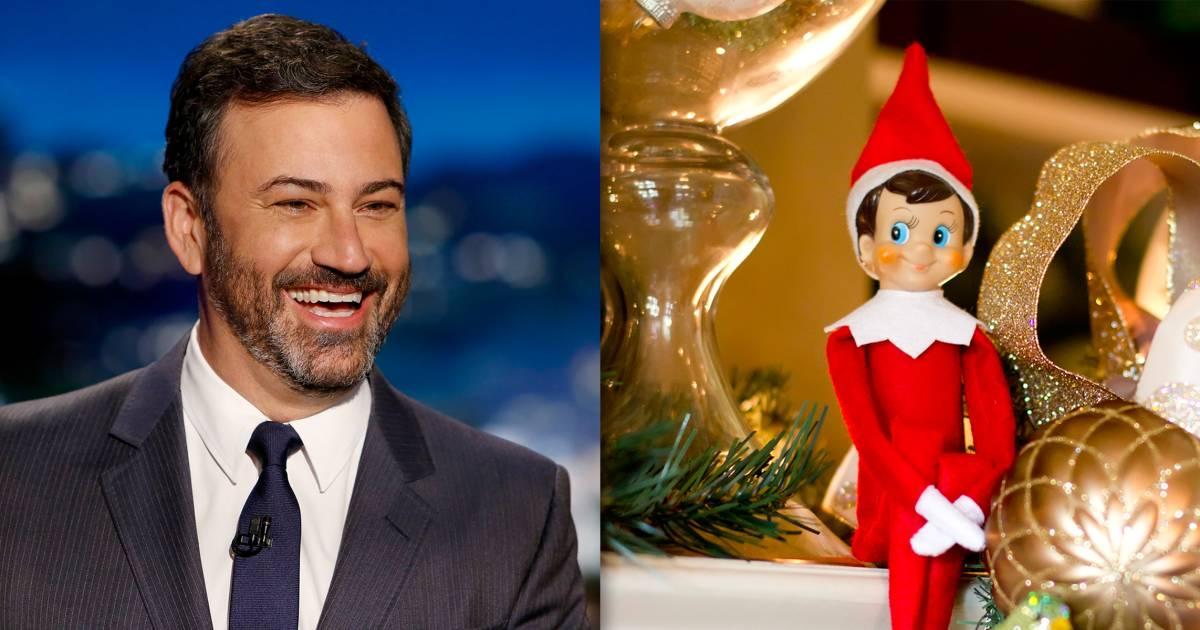 Jimmy Kimmel has a brilliant idea for Elf on the Shelf