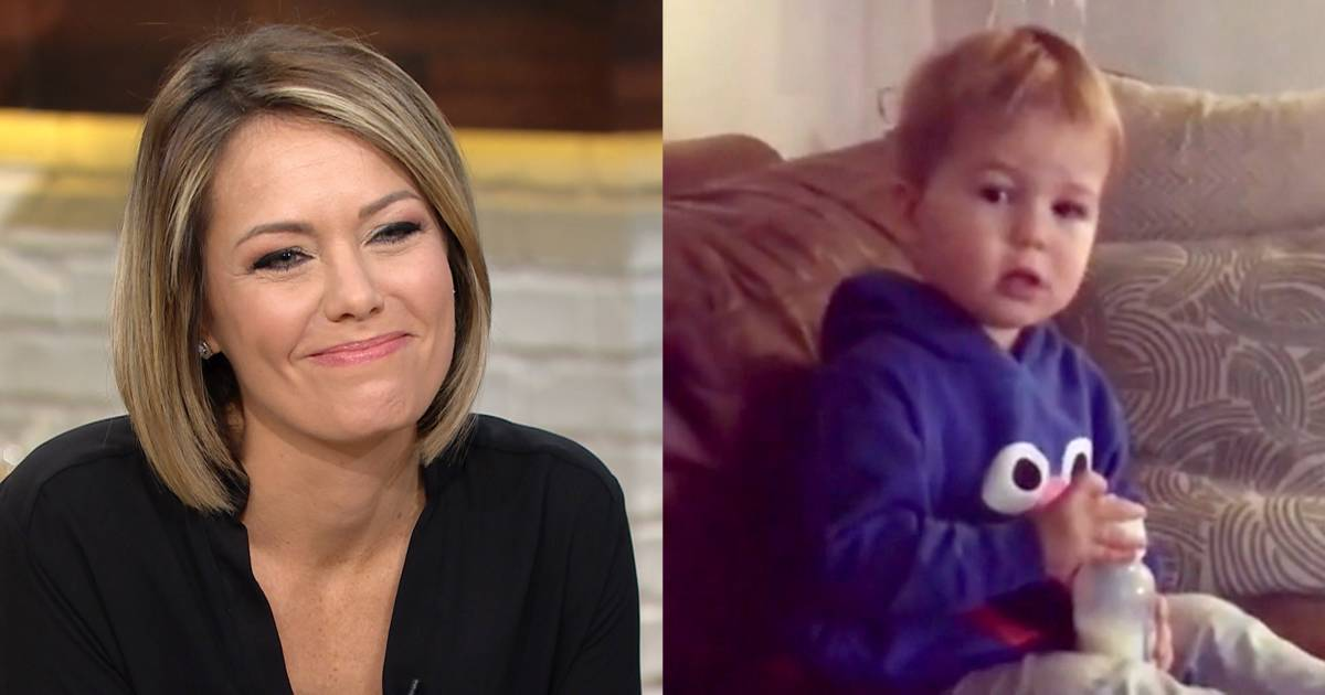 Dylan Dreyer's son Calvin would rather watch Elmo than mommy on TV