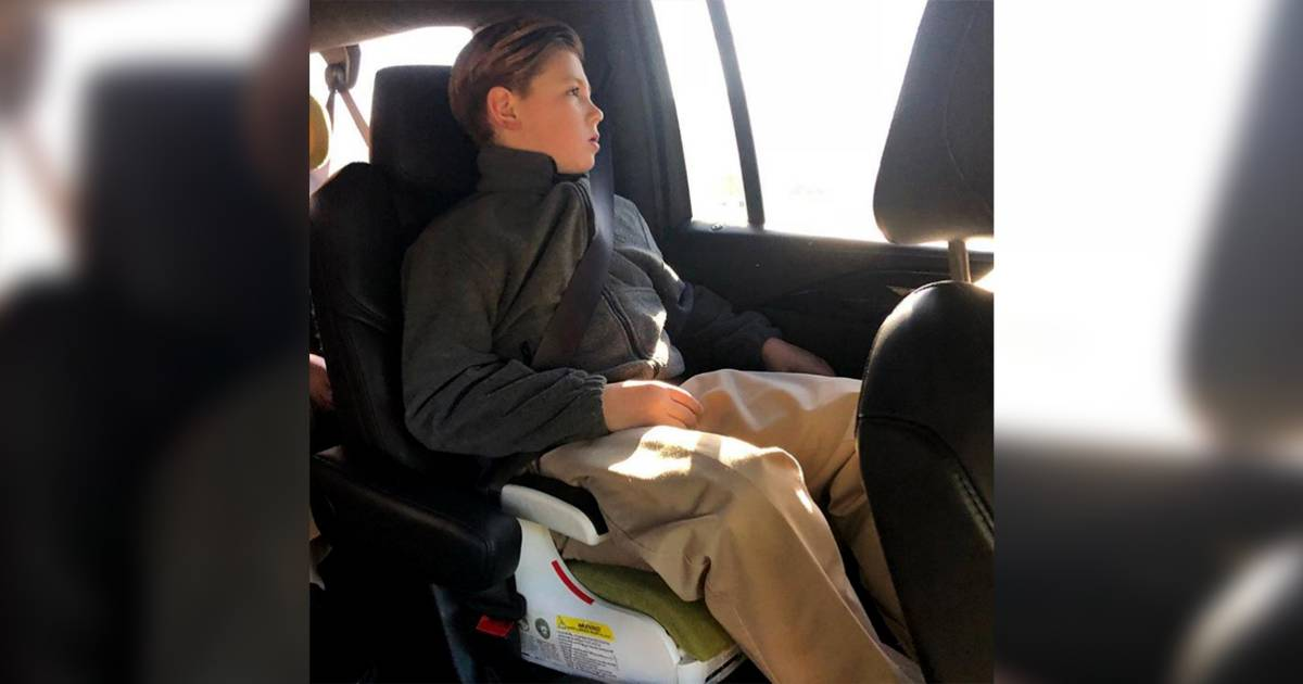 'Real Housewives' star facing backlash for photo of 6-year-old son in car seat