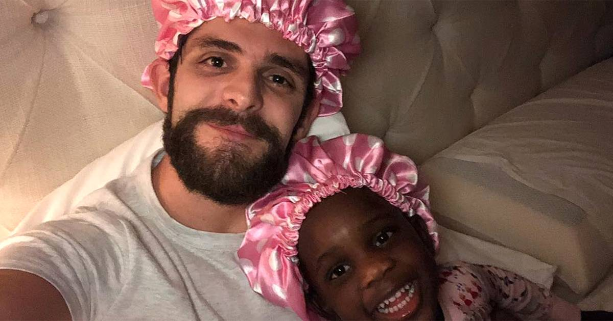 Thomas Rhett matched bonnets with his daughter for the sweetest reason