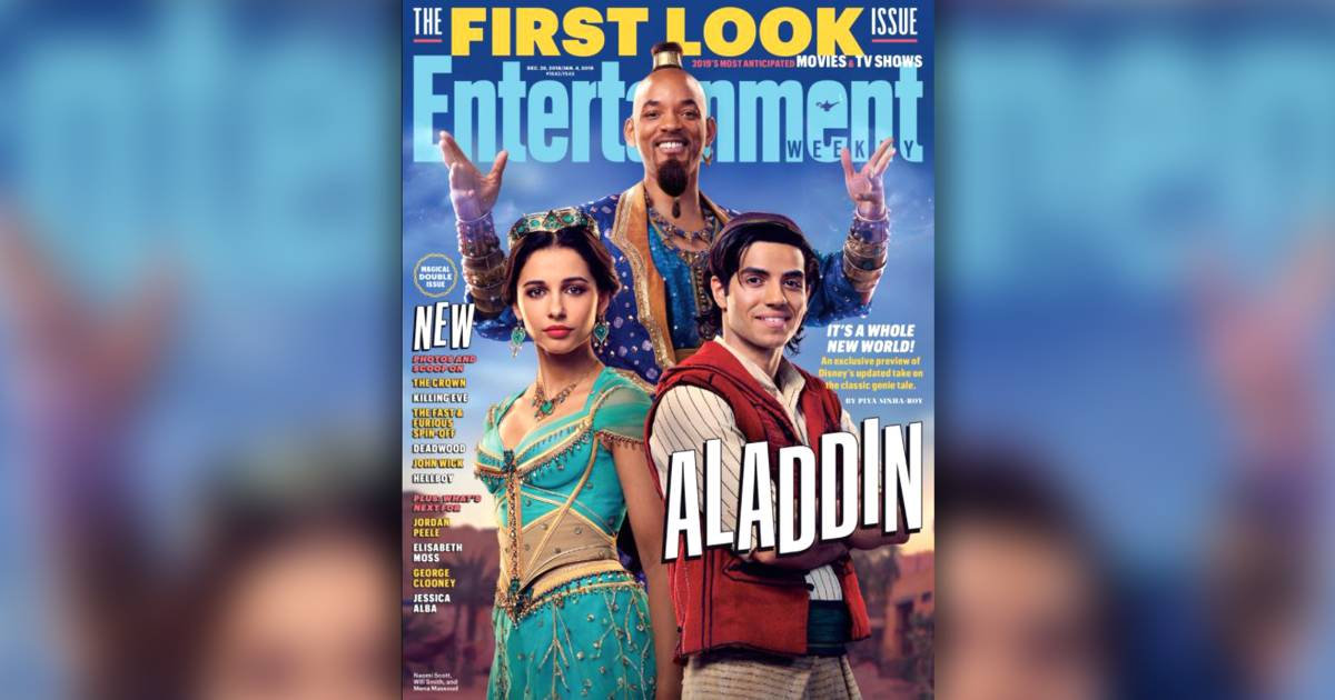 Will Smith Is Magical As Genie In 1st Look At 39Aladdin39