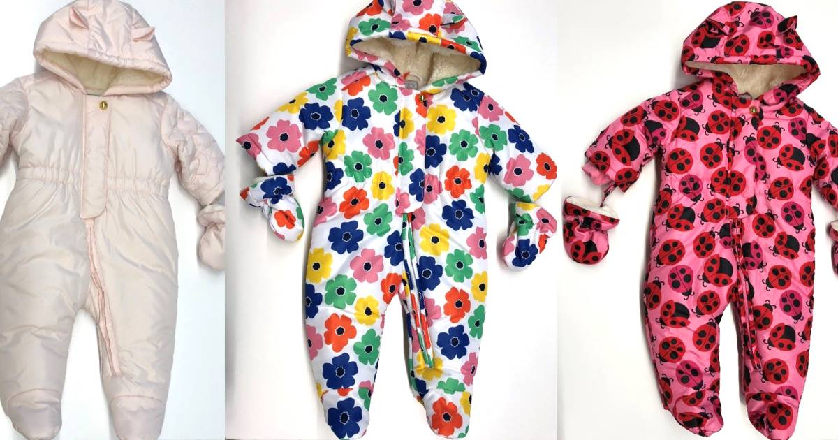 The Children's Place recalls infant snowsuits because of choking hazard
