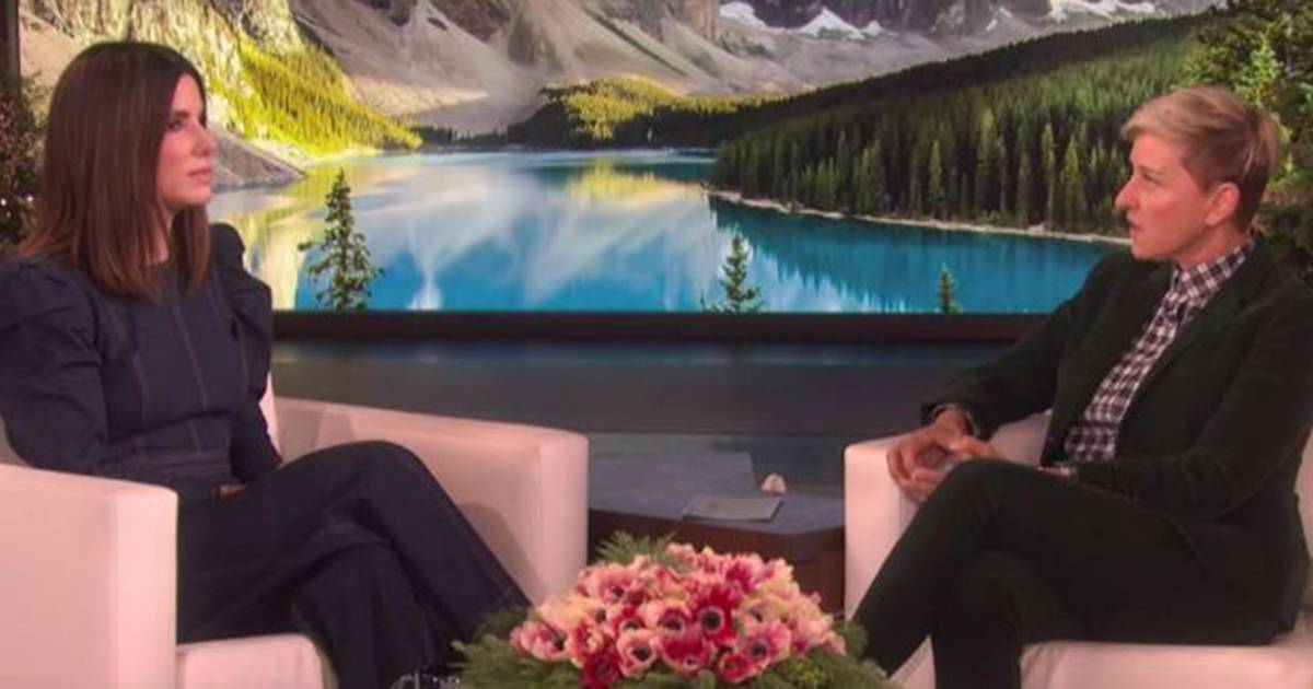 Sandra Bullock opens up on 'Ellen' about losing her father and dogs just weeks apart