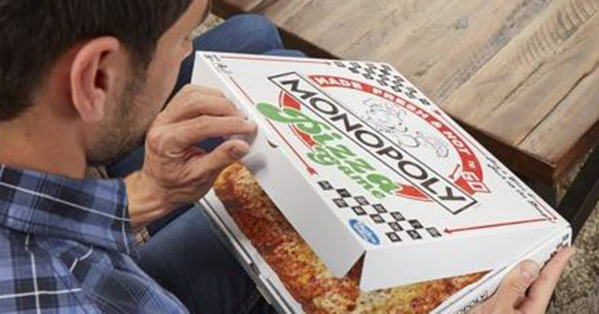 Monopoly's pizza edition is here — and it comes in a literal pizza box