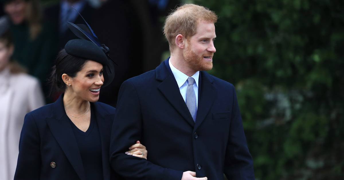 Meghan Markle hinted about her due date on Christmas Day
