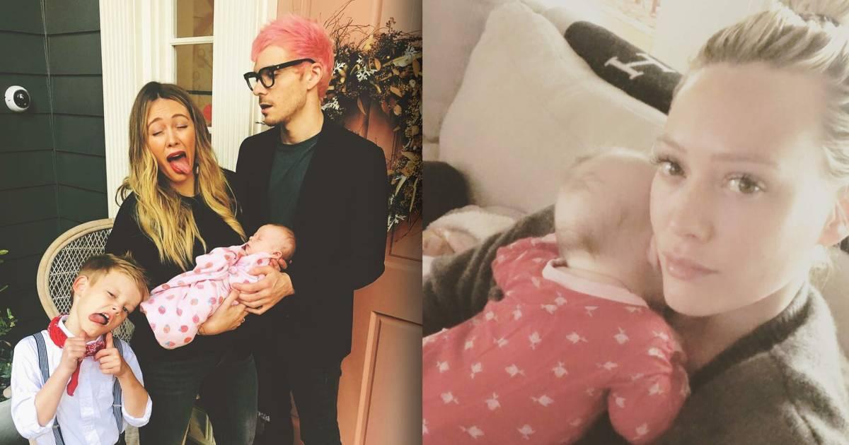 5 times Hilary Duff was totally honest about raising a newborn