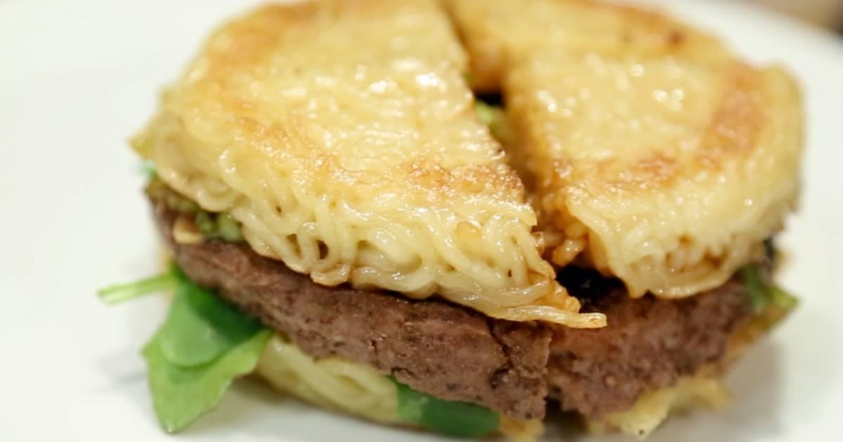 Ramen burger creator: It's more than 'college food'