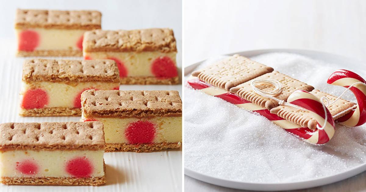 Give edible holiday gifts! Make Gesine Bullock-Prado's almond toffee, cheesecake bars