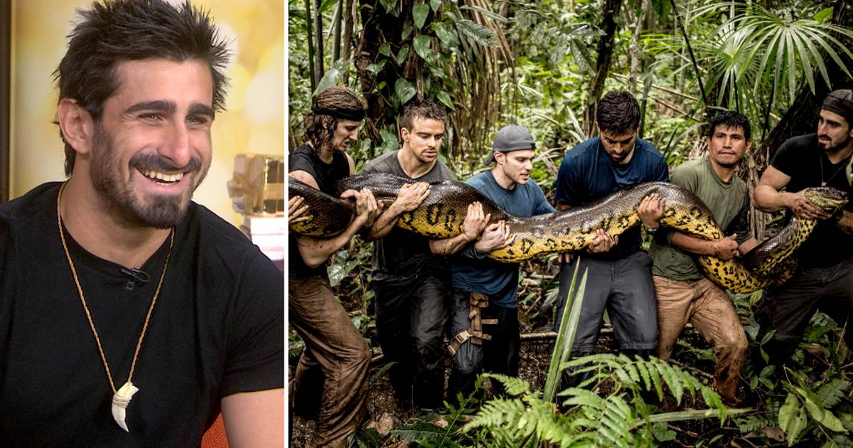 Man 'Eaten Alive' by anaconda explains why he did it — and how it felt