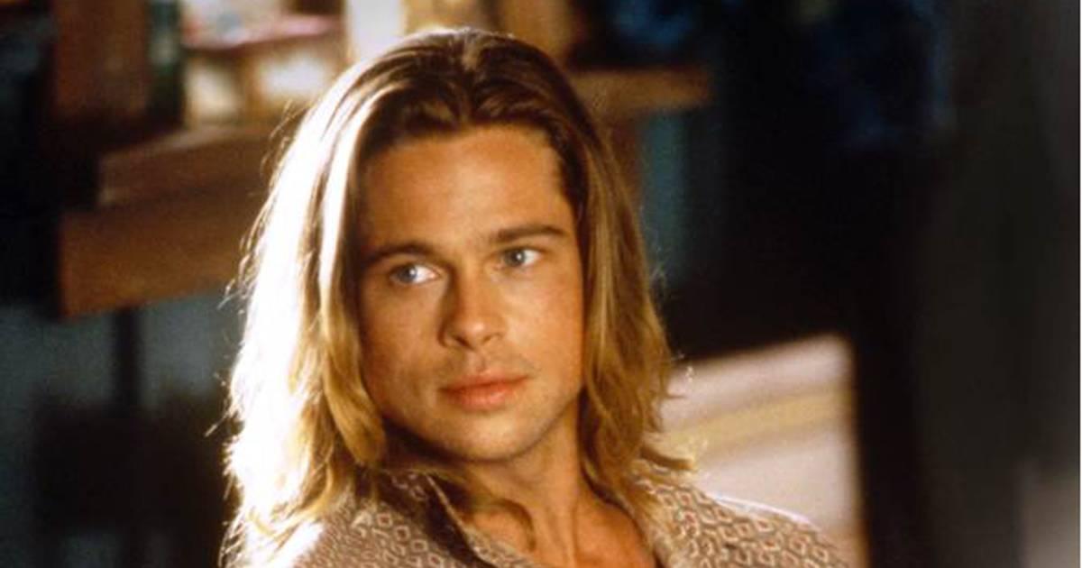 Brad Pitts Luscious Locks The Evolution Of His Beautiful Mane