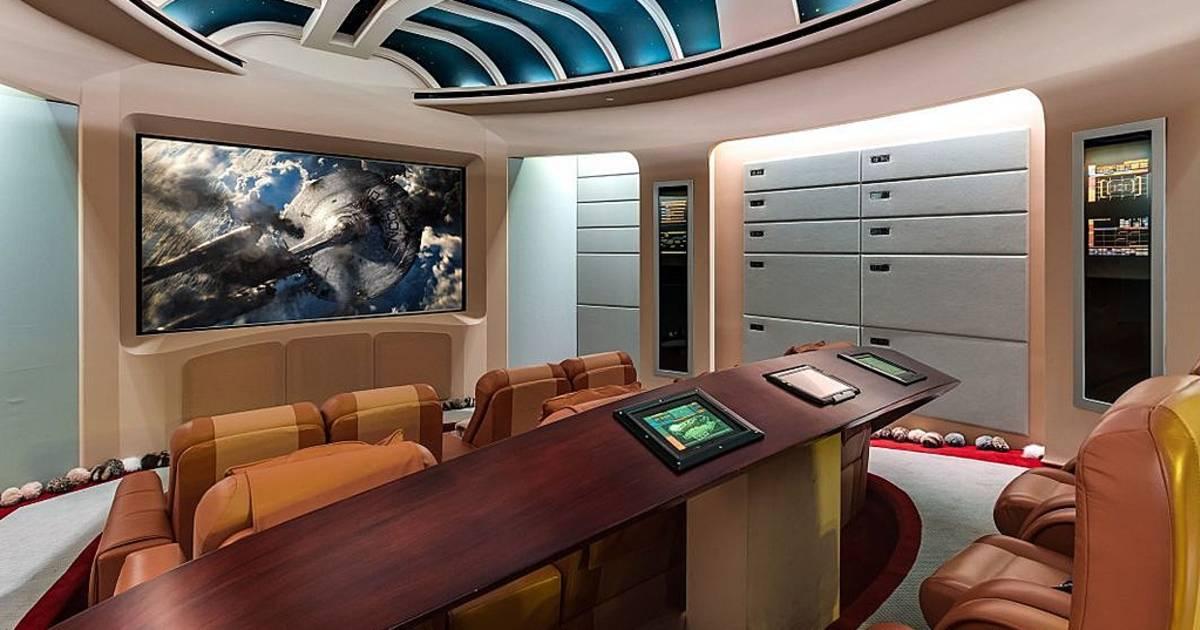 Star Trek Inspired Mansion Is 35 Million Sci Fi Dream