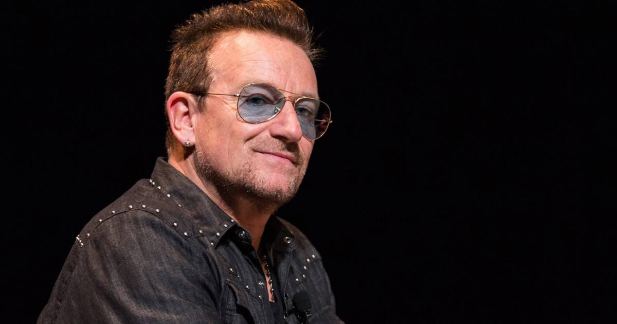Bono explains the sunglasses: U2 singer says he has glaucoma