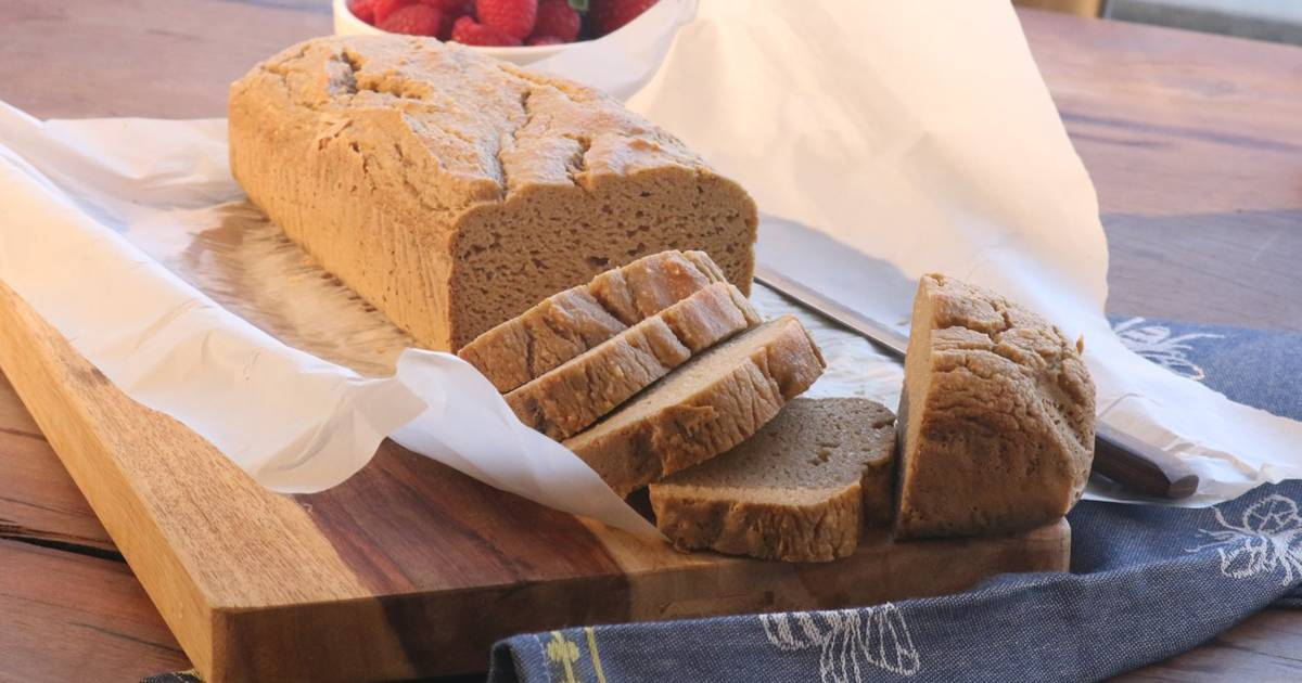 So easy! Make this simple grain-free bread in your blender