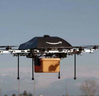 Image: The Prime Air unmanned aircraft project that Amazon is working on in its research and development labs