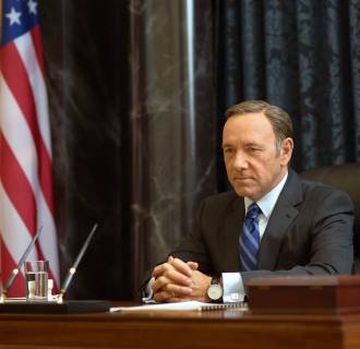 Image: Kevin Spacey as Francis Underwood in a scene from