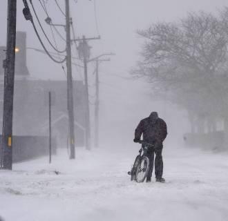 Image: New England Snow Storm