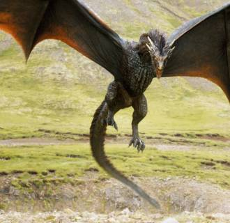 Image: Dragon from HBO's