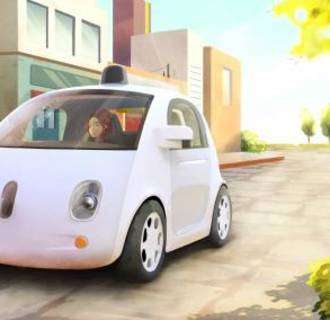 Image: Concept drawing of Google self-driving car