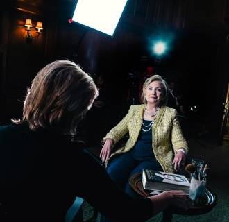 Hillary Clinton speaks to NBC News.
