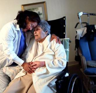 Home health care is a growing field that often appeals to workers over 50.