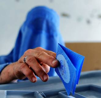 Image: AFGHANISTAN-ELECTION