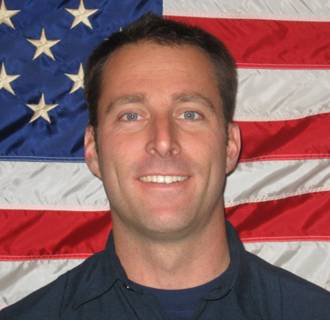 Image: Arcadia firefighter Mike Herdman