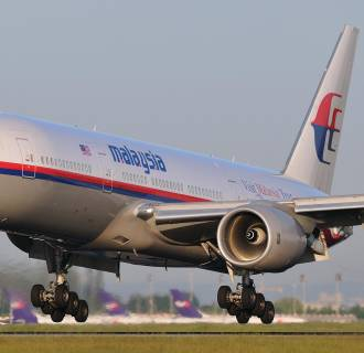 Image: Missing Malaysia Airlines flight lands in 2009.