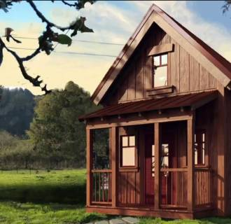 Image: Small house evangelist and founder of Four Lights Tiny House Company Jay Shafer talks about the inspiration behind his small home designs