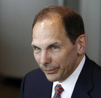 Image: Proctor and Gamble President and CEO Robert McDonald is pictured at a business roundtable meeting of company leaders in Washington