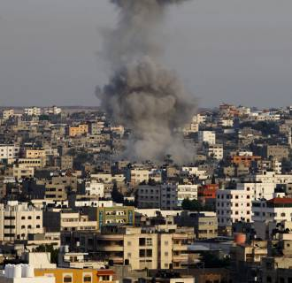 Image: Israeli airstrikes on the Gaza Strip