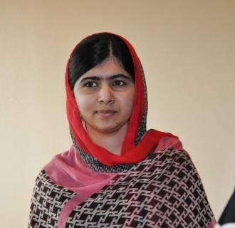 Image: Pakistani activist Malala Yousafzai